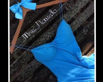 HUGE SALE Sale/Personalized Custom Bridal Hanger, Brides Hanger, Bride