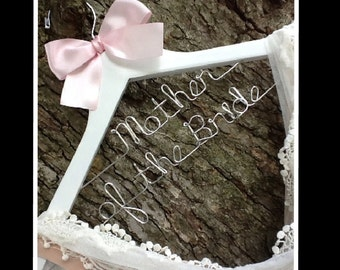 20% OFF SALE Wedding hanger/ SALE / personalized Bridal hanger/Two Tier hanger / perfect bridal shower gift , u pick any name , bridal party