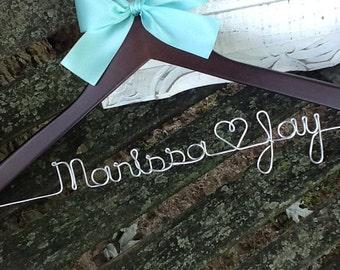 HUGE SALE Personalized Bridal Hanger / Bride  / Wedding Hanger /Bridal Gift / bridal party GIFTS / wire hanger