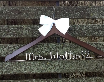 HUGE SALE Wedding Hanger for Bride or Bridesmaid