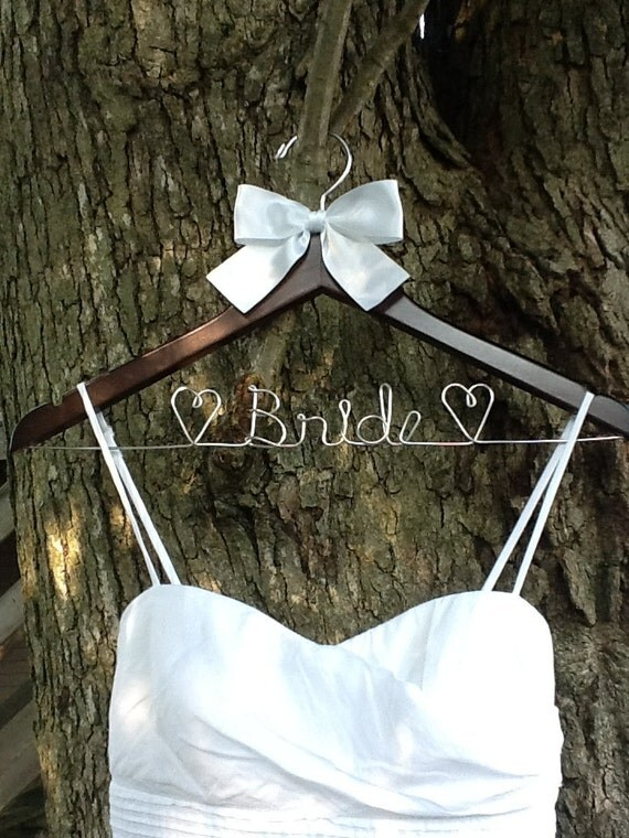 CYBER SALE Personalized Custom Bridal Hanger / Brides Hanger / Bride / Name Hanger / Wedding Hanger /Personalized Bridal Gift