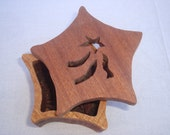 Mahogany shooting star box