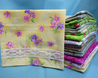10 Tissue cozy with card holder for wedding giveaway thank you gift