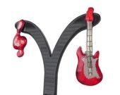 Guitar-Sol key earrings