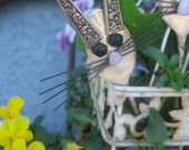 Easter Bunny - Silver Plated  Spoon - Bunny Rabbit - Vintage Silverplate- Spoon Garden Marker- Plant Stake- Mother's Day -  Easter- COSOFG
