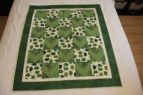 Turtles Baby Quilt