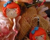 Ariel The Little Mermaid - Disney Princess Earrings - Polymer Clay