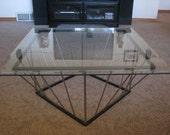 metal stainless steel coffee table modern