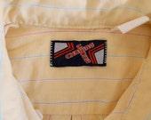 Retro Butter Button Down Shirt