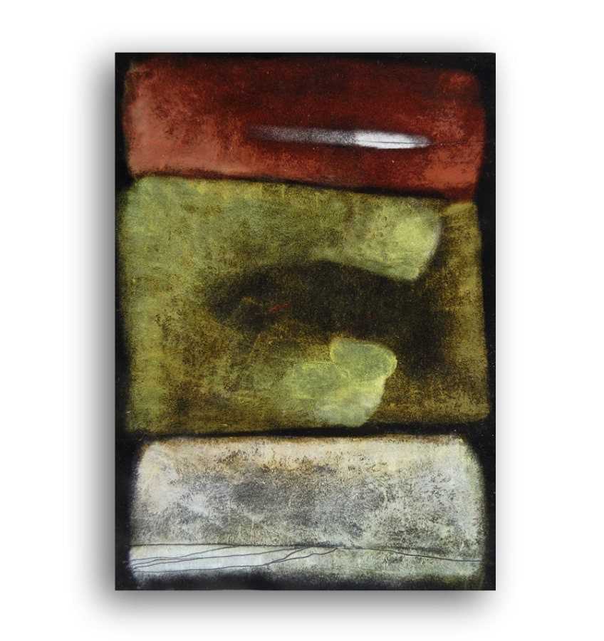 TEXTURED Abstract Painting OIL PASTEL drawing pastels on