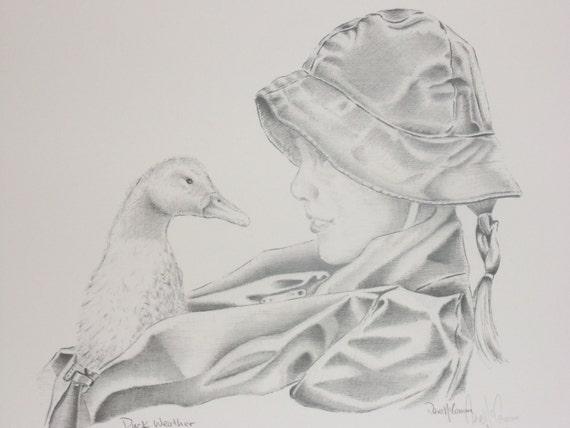 Duck Weather 11 X 14 Print