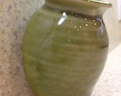 Green Ceramic Wall Pocket