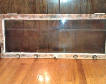 vintage window coat/clothes hanger