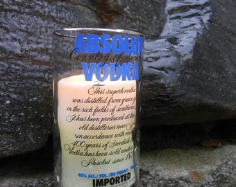 ABSOLUT VODKA Candle