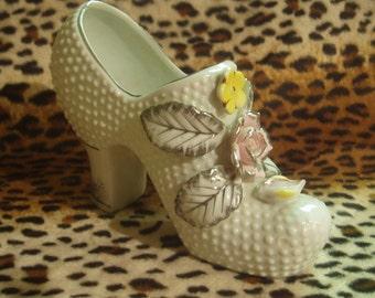 Japanese Vintage ceramic Shoe (High Heel)