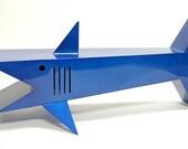 Shark Table modern stylized shark coffee table by sculptor Bruce Gray