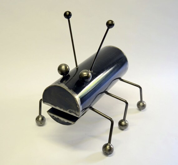 Giant Ant - Large steel humorous insect sculpture