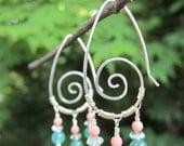 Summer Spiral Earrings