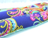 Heating Pad, Natural Lavender Aromatherapy Heating Pad, Spring Allergy Relief, Purple and Teal