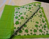 Quilted Irish St Patrick's Day Table Runner