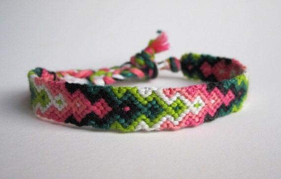 Blushing--friendship bracelet