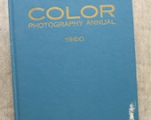 1960 Color Photography Annual Bruce Downes Vintage Book