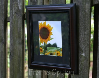 Framed Photo of Your Choice for 8x10, Framed Artwork, Framed Photography