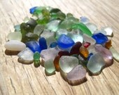 Sea Glass - Red, Pink, Yellow, Cobalt Blue, Aqua, Lavender, Seafoam, Olive, Sage Green - Supplies - 0522-01