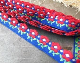 Lace Blowout Sae American Garden Vintage 1970 Flower Edged Ribbon Trim