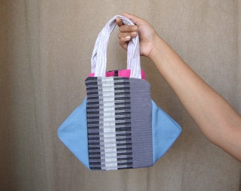 cotton handbag in multi color fabrics like linen,canvas - free gift wrapping and personalized message card