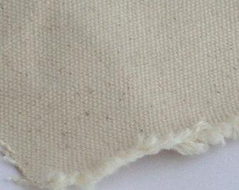 canvas fabric  off white color A GRADE  plain  pattern cotton linen canvas