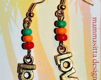 Love Rasta Earrings
