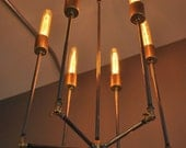 Inverted Sputnik Chandelier