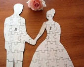 Guest Book Puzzle Bride And Groom - 100 Pieces