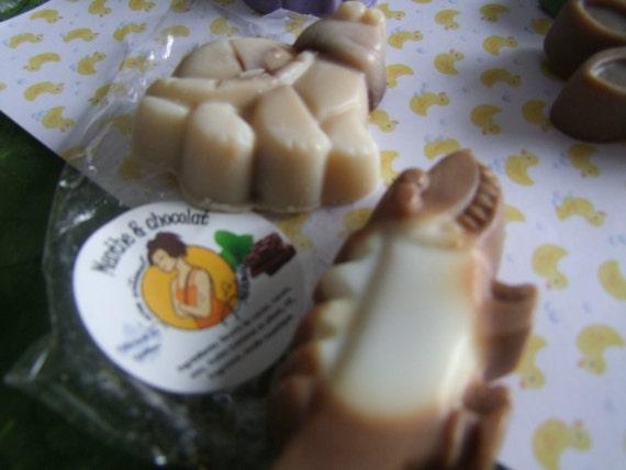 50% sale - Peppermint chocolate kid'soap 60 grams