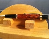 Thuya Burl Gold Wall Street II Twist Pen