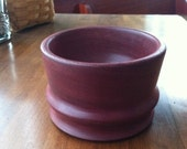 "Hand Turned Purple Heart Bowl 4 1/2"" Diameter x 2 3/4"" Tall"