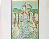 Beautiful Fairy Lithograph Art Print - BIANCO, PAMELA Fairy Spring