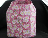 Dog Harness Vest -Daisy-Pink