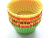 Silicone Cupcake Mold For Baking, Soaps, or Candles