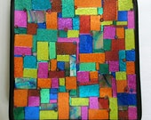 Fused Dichroic Glass Plate  FREE SHIPPING
