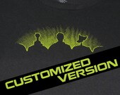 CUSTOMIZED Mystery Science Theater 3000 MST3K T-Shirt