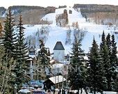 Vail Mountain Colorado Winter Panorama 11x14 Limited Edition Print
