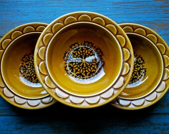 Set of Three Small Decorative Bowls
