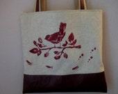 SALE Paris Bird Purse Bag LAST ONE