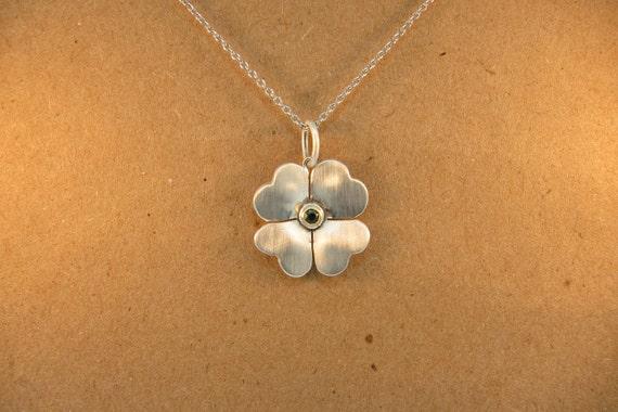 Clover necklace.