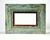 New Orleans Reclaimed Wood Antique Beadboard Frame - 5x7 - Custom Made - INCLUDES GLASS and BACKING