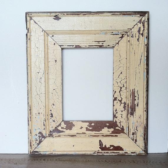 New Orleans Reclaimed Wood Frame Beadboard Antique White