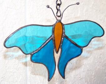 Luna Moth Garden Stake