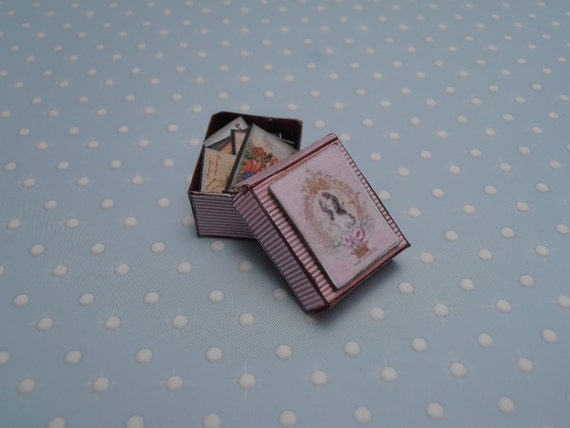 Gaël Miniature  Shabby Chic French post card